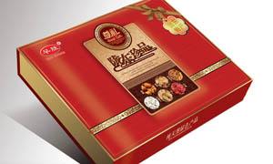 陕西特产包装盒设计PSD源文件