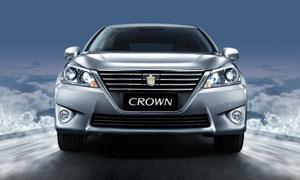 2012新款CROWN皇冠高清正视图