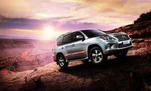 雷克萨斯全新一代SUV汽车摄影图片