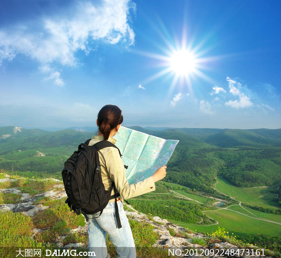 关键词: 高清摄影大图素材图片人物女性女人美女旅行旅游驴友背包客