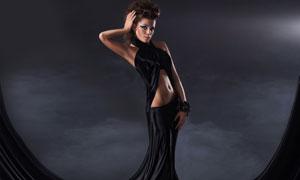 创意服装造型美女模特摄影高清图片
