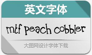 MTF Peach Cobbler(英文字体)