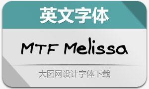 MTF Melissa(英文手写字体)