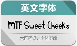 MTF Sweet Cheeks(英文手写体)