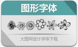 MTF Flower Doodles(图形字体)
