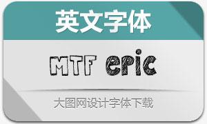 MTF Epic(英文手绘字体)