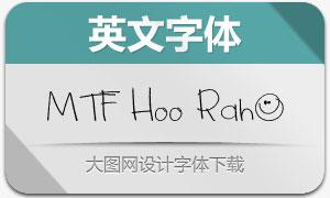 MTF Hoo Rah(英文手写字体)