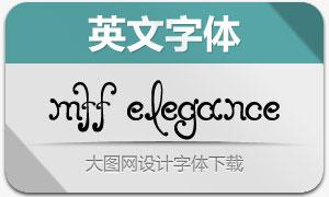 MTF Elegance(创意个性字体)