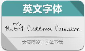 MTF Colleen Cursive(英文手写体)