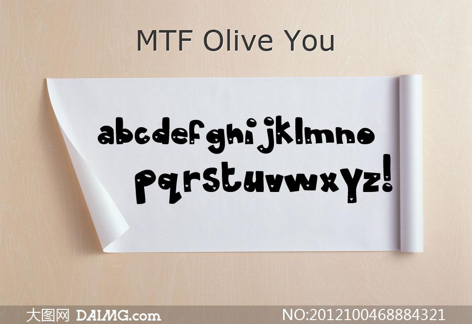 (花朵装饰字体) 上一篇: mtf krystyna(英文手写字体