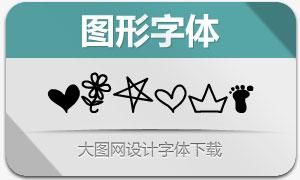 MTF Doodle(创意图形字体)