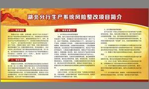 银行展板宣传海报设计矢量素材