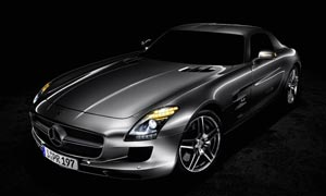 奔驰SLS级AMG汽车摄影图片