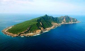钓鱼岛全景摄影图片素材