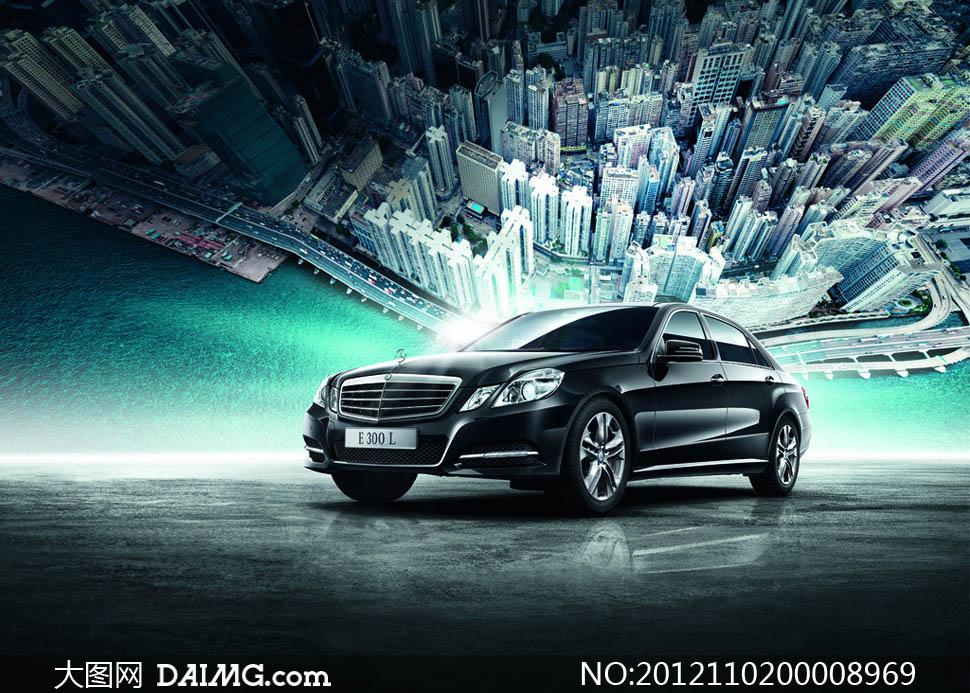 奔驰E级车E300L设计图片