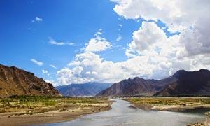 西藏野外风景摄影图片
