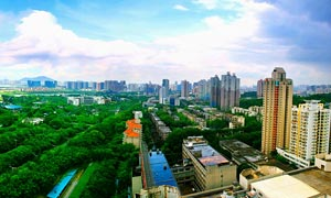 深圳南山世界之窗全景摄影图片