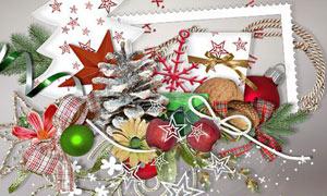 圣诞节礼物装饰等图片素材