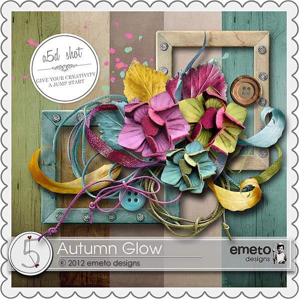 可爱花朵和照片边框剪贴素材