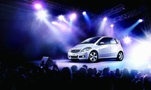 奔驰A级轿车高清设计图片