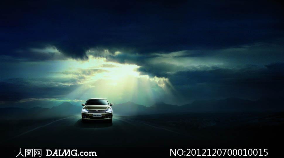 大众桑塔纳nf汽车设计图片素材