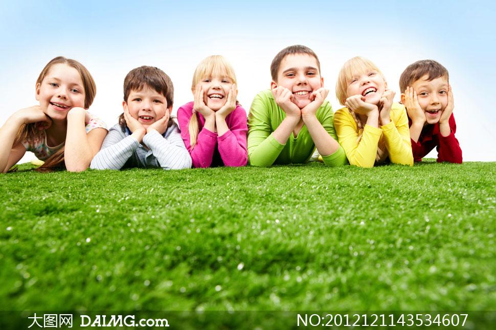 外国儿童可爱笑脸