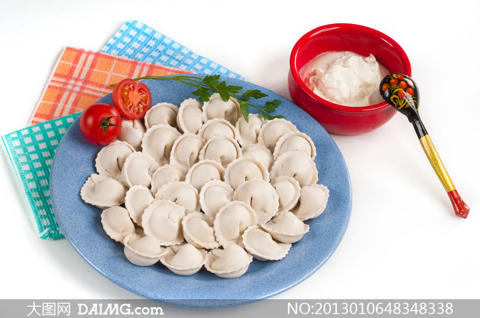 高清摄影大图图片素材微距近景特写静物食物食品面食面点汤匙盘子图片