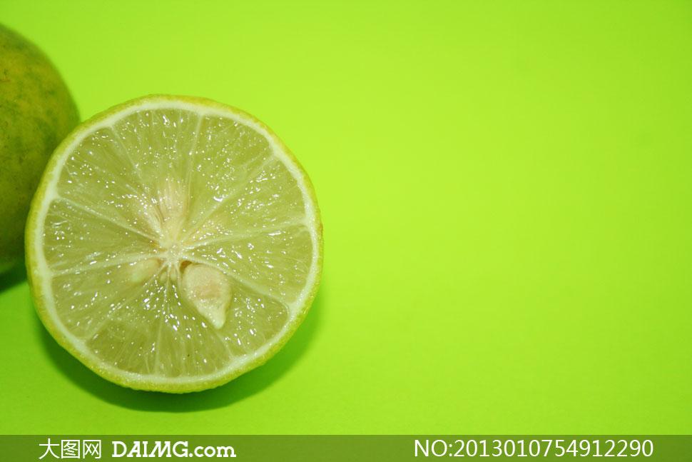 小清新柠檬电脑壁纸_超高清简约小清新电脑壁纸