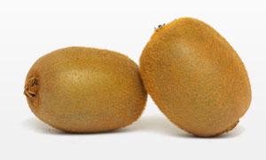 毛茸茸猕猴桃果子特写摄影高清图片