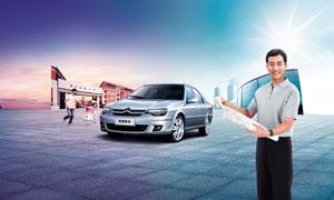 东风雪铁龙汽车设计广告图片素材