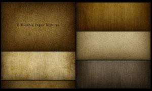 颓废麻布和复古羊皮纸填充图案