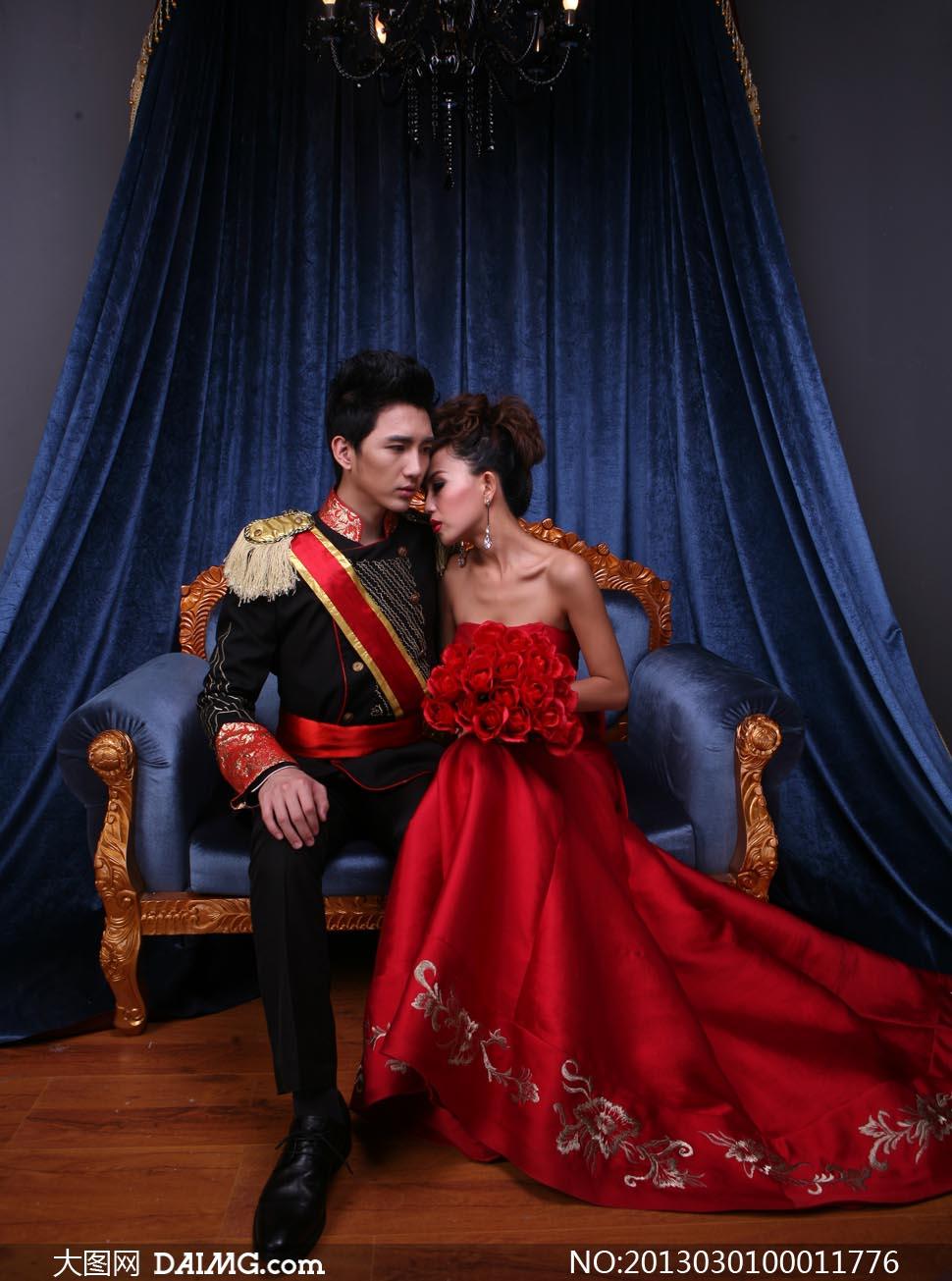 欧式风格婚纱摄影图片素材