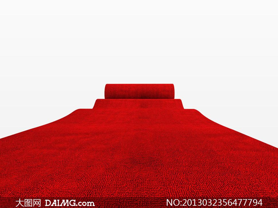 高清攝影大圖圖片素材紅色紅布紅地毯紅毯