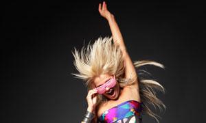 活力动感舞蹈女孩人物摄影高清图片