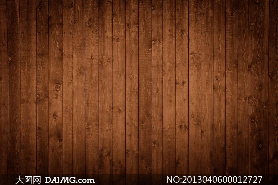 木地板地板深色暗角木纹木质背景竖纹底纹高清晰图片