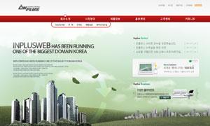 商务企业网页设计模板PSD源文件