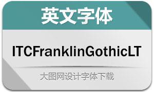 ITCFranklinGothicLT(20款字体)