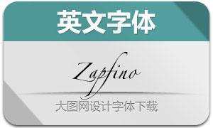 Zapfino系列6款英文字体