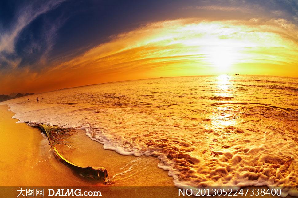 大图首页 高清图片 自然风景 > 素材信息  天空云彩海水自然风光摄影