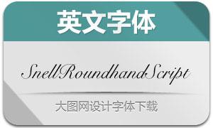 SnellRoundhandScript(英文字体)