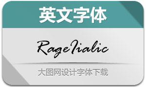 RageIialic(英文字体)