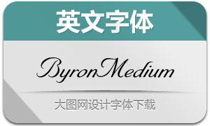 ByronMedium(英文字体)