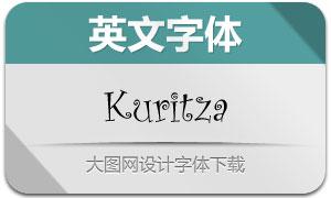 KuritzaRegular(创意英文字体)