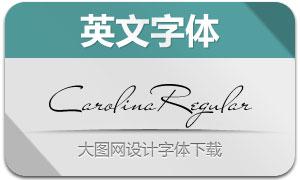 CarolinaRegular(英文字体)