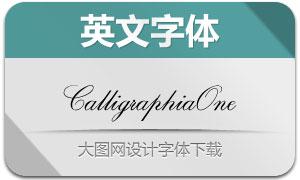 CalligraphiaOne(英文字体)
