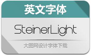 SteinerLight(英文字体)