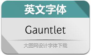 Gauntlet(两款英文字体)