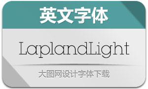 LaplandLight(英文字体)