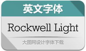 RockwellLight(英文字体)