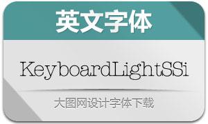 KeyboardLightSSi(英文字体)